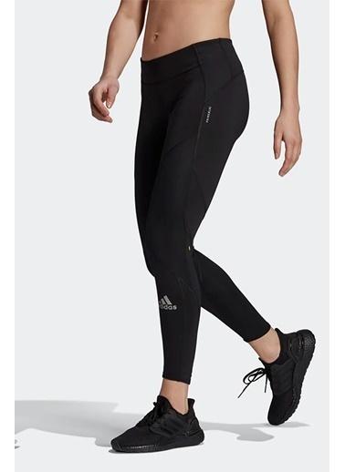 adidas Adidas Kadın Koşu - Yürüyüş Tayt P.Blue Fast Tgt Gh6850 Siyah